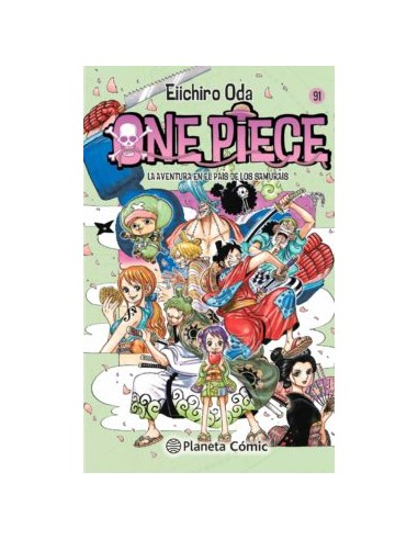 ONE PIECE Nº 91