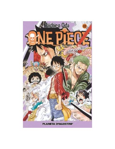 ONE PIECE Nº 69