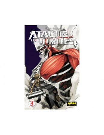 ATAQUE A LOS TITANES Nº 03