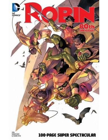 ROBIN 80TH ANNIV 100 PAGE SUPER...