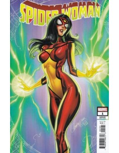 SPIDER-WOMAN 01 JS CAMPBELL...